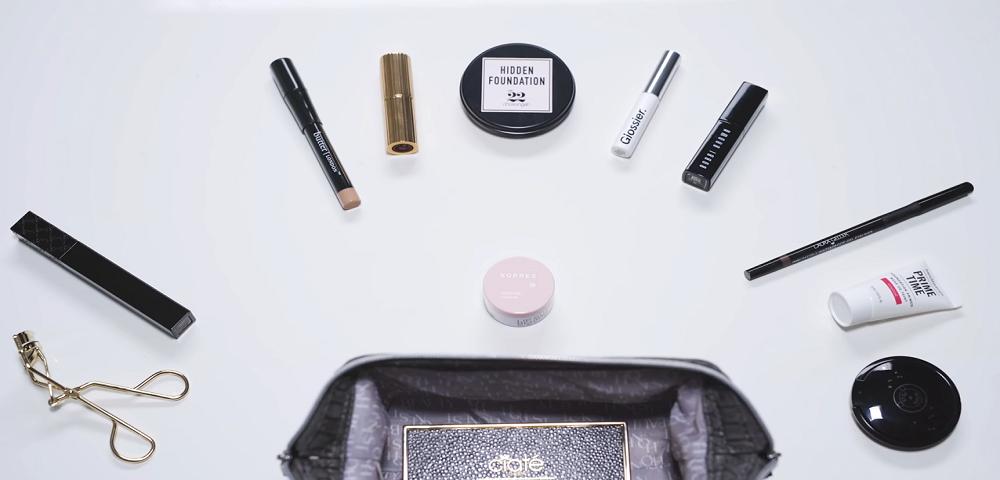 【美丽极客】如何整理一个精简的化妆包