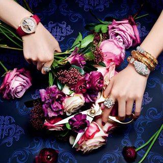 视觉盛宴 | 繁花应和美钻 不低调不张扬