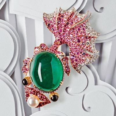 精美珠宝 | 珠宝与线条的维度穿越