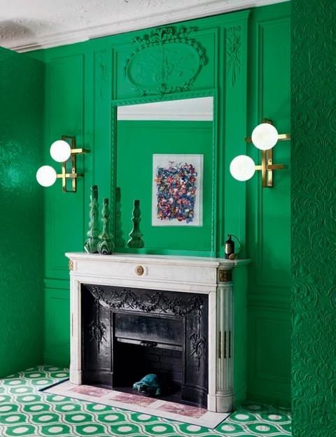 色彩的梦幻仙境 室内设计师的家