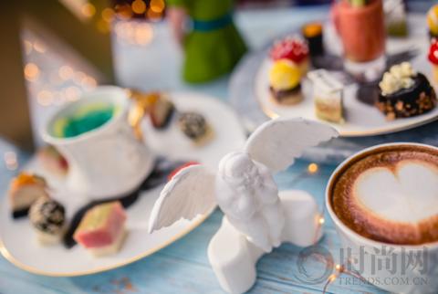 穿梭于童话世界,在下午茶中遇见天使的惊喜之吻