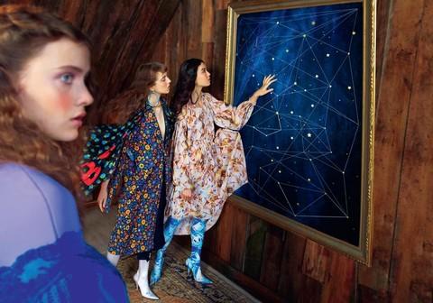 视觉盛宴 | 星空童话里的年华少女