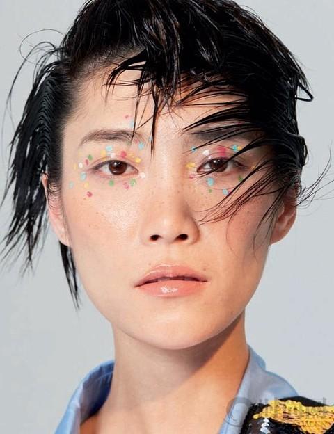 苏诗丁、于文文的超酷音乐妆
