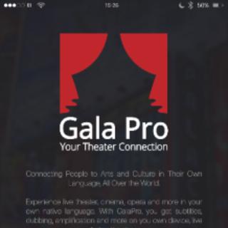 无障碍翻译应用程序GalaPro,打造创新音乐剧观赏体验
