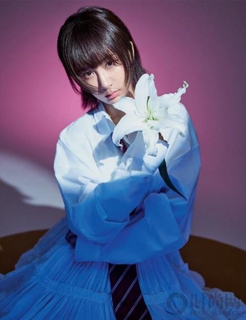 杨紫 | 四九城中长大的女孩 透着一股飒劲儿