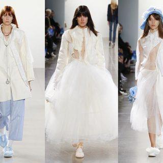 新生代设计师 Irina Wang 于2019SS纽约时装周崭露头角,诉说了她的异想世界
