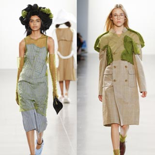 新生代設計師 Irina Wang 于2019SS紐約時裝周嶄露頭角,訴說了她的異想世界
