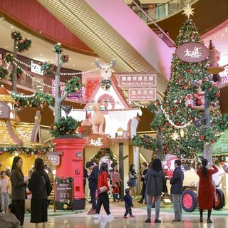 馴鹿奇緣傳樂圣誕,廣州太古匯圣誕系列活動正式啟動