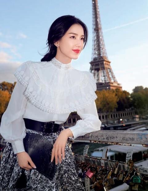 黄圣依 | 行走在巴黎