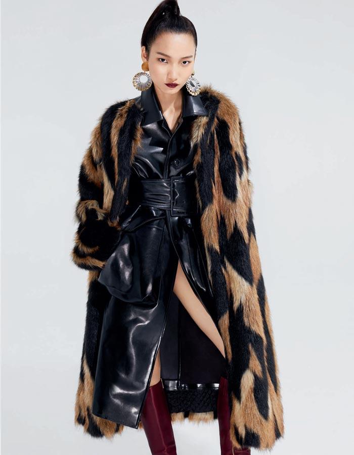 寒冷的冬天 外套、皮衣、夾克疊穿起來吧!