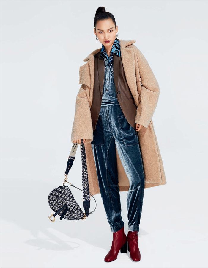 寒冷的冬天 外套、皮衣、夹克叠穿起来吧!