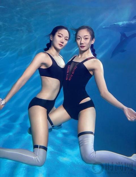 蒋文文 × 蒋婷婷 | 出水双娇