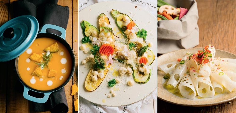 六道纯粹的美味蔬菜 为你的肠胃减负