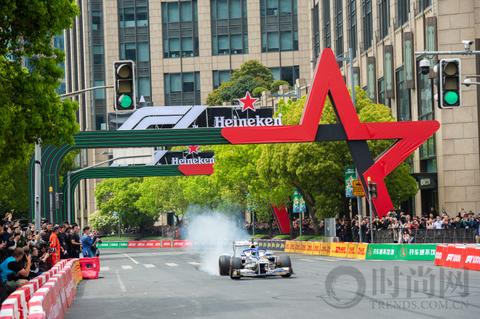 喜力F1上海嘉年华狂欢派对震撼来袭  欢庆F1大奖赛第1000站里程碑
