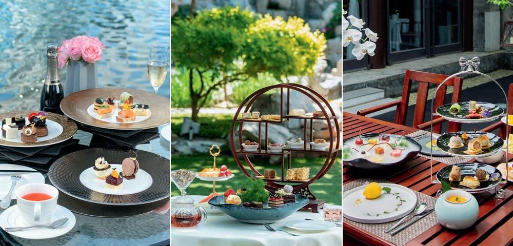 秀色佐餐 约个户外下午茶吧!