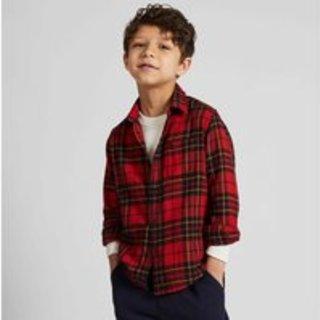 优衣库儿童法兰绒新装上市 陪伴儿童快乐成长
