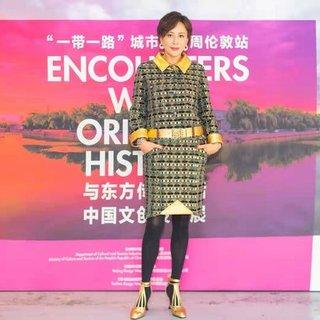 刘嘉玲在伦敦为苏州国际设计周加油