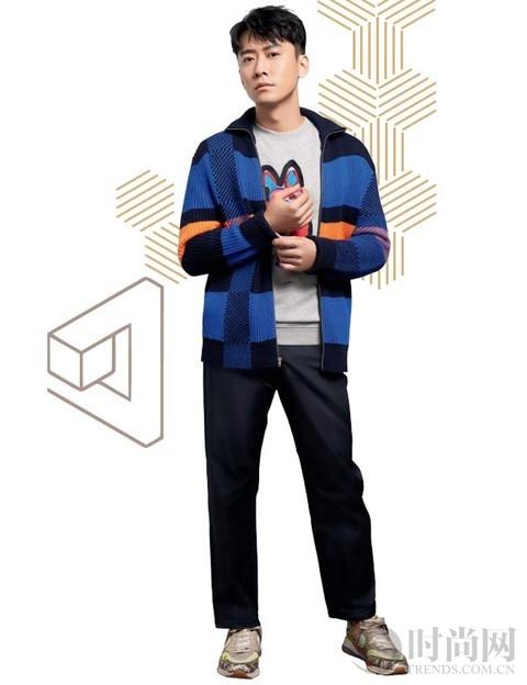 针织衫 穿出型男的温度与风度