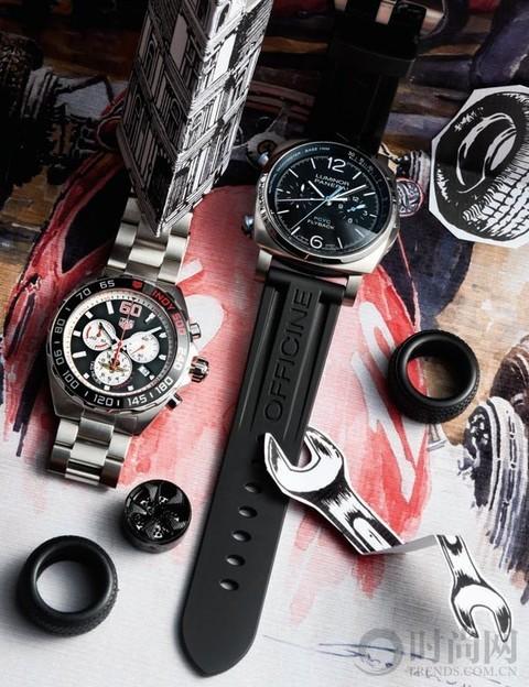 """腕表设计怎能少了""""速度与激情""""元素"""