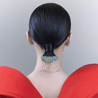新中式 美人發