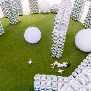 告白气球艺术展4.0再度席卷魔都,十万颗气球致敬真爱!
