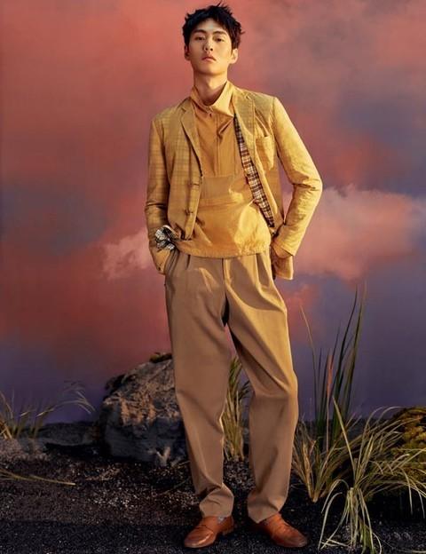 适合田园度假的男装穿搭LOOK
