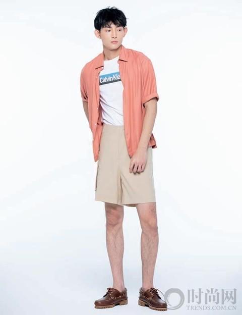 正确打开短裤的夏日清凉穿搭