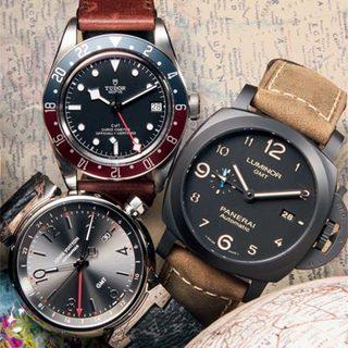 GMT腕表 一目了然的两地时