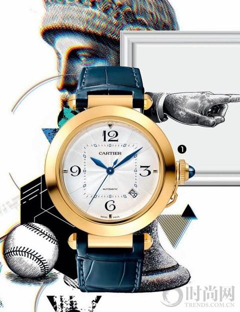 焕发全新活力的时尚腕表