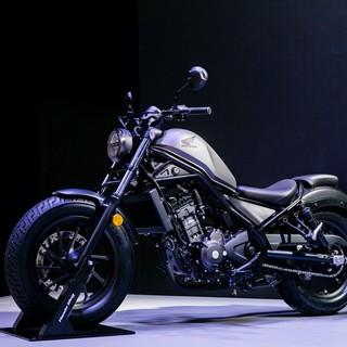 Honda携新款摩托亮相2020北京车展
