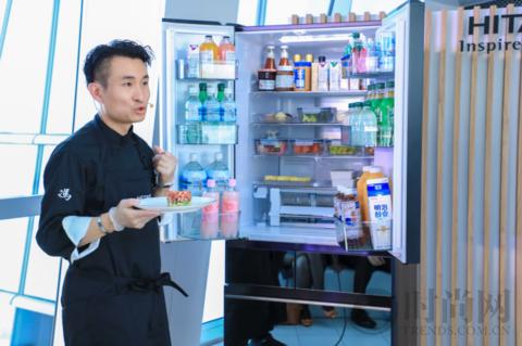 组合多变,新鲜不变   日立KW系列变温冰箱全新上市,开启创意新生活
