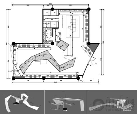 """帝玛设计:三个""""世界""""交替折叠的空间,轮流苏醒"""