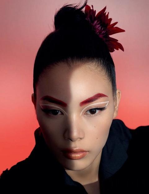 画眉新语 创造东方眉的新风尚