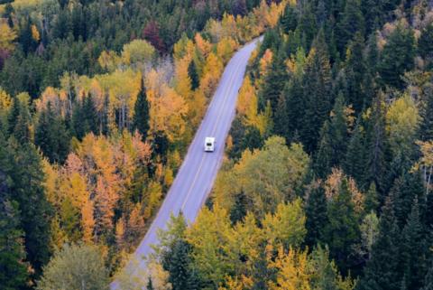 属于加拿大的秋日的美好体验