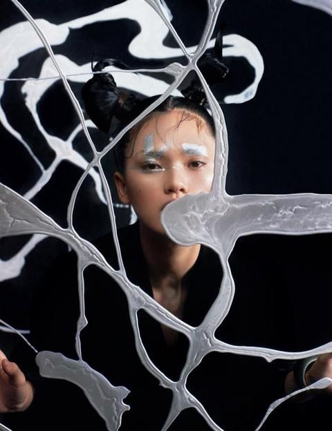 五行灵感妆容 展现中国女性的气韵