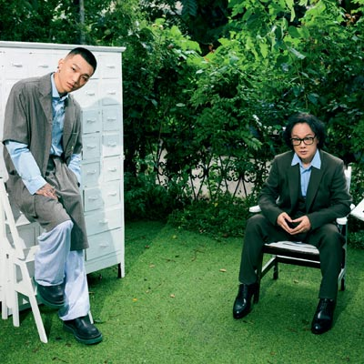 姚谦 & 蔡维泽   写词很痛苦,但创作让人满足