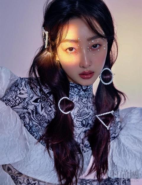 蒋梦婕的新年开运妆