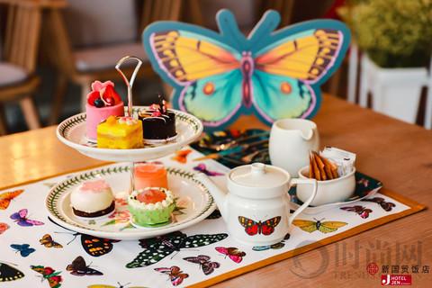 JEN北京新国贸饭店携手Portmeirion波特美林打造春日花园下午茶