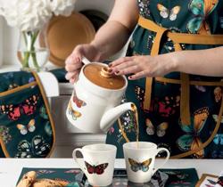 JEN新国贸饭店携手Portmeirion波特美林打造春日花园下午茶