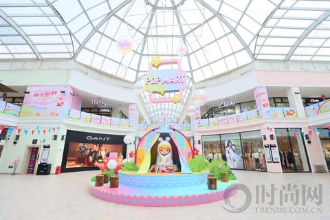 泡泡玛特BUNNY童心系列助力斯普瑞斯奥莱10周年店庆