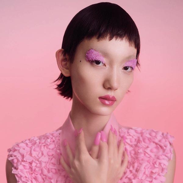 季節是畫布 彩色妝容肆意生長