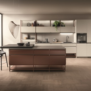 "Scavolini通过Formalia系列探寻家具的本质,  此系列是由Vittore Niolu精心设计的全新""家居系统"""