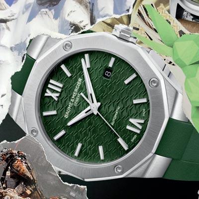 """今年的钟表圈仍然是""""绿色""""当道"""